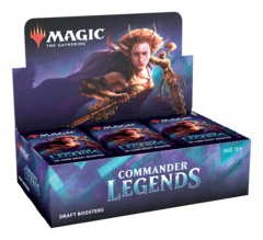 Commander Legends Booster Box PRERELEASE 11-13-20