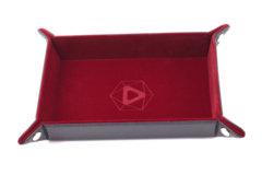 Die Hard Dice Table Armor Folding Dice Tray - Red Velvet