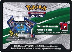 50 XY Sun & Moon Online Code Cards