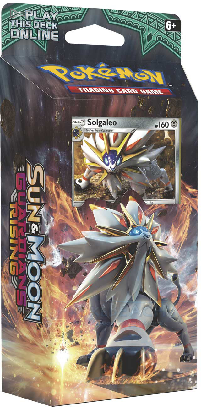 Sun & Moon Guardians Rising Theme Deck - Steel Sun