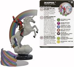 Deadpool - 069 - Ultra-Chase- w/card and Clix FX base