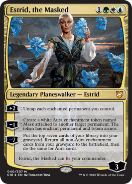 Estrid, the Masked - Commander 2018