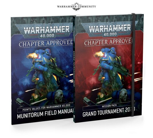 Warhammer 40,000: Chapter Approved Grand Tournament 2020 Mission Pack and Munitorum Field Manual