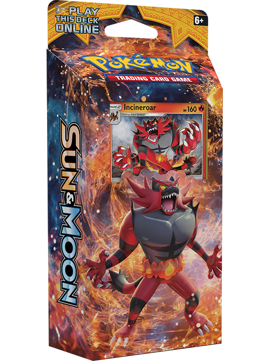 Sun & Moon Theme Deck - Roaring Heat
