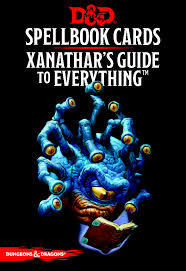 D&D Spellbook Cards - Xanathars Guide