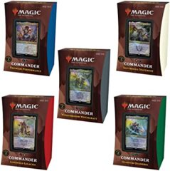 Strixhaven Commander Deck: Set of 5 LIMIT 2 PER CUSTOMER RELEASE DAY 4-23-21