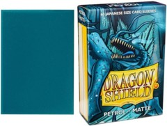 Dragon Shield Japanese Card Sleeves 60ct - Matte Petrol