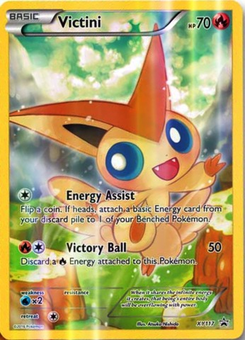Victini - XY117 - Mythical Collection Promo
