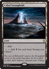 Cabal Stronghold - Dominaria