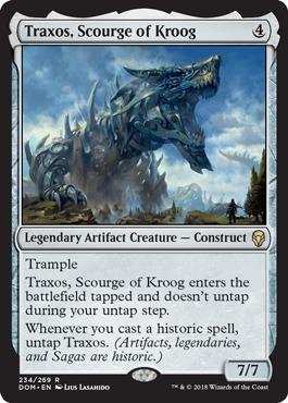 Traxos, Scourge of Kroog - Dominaria
