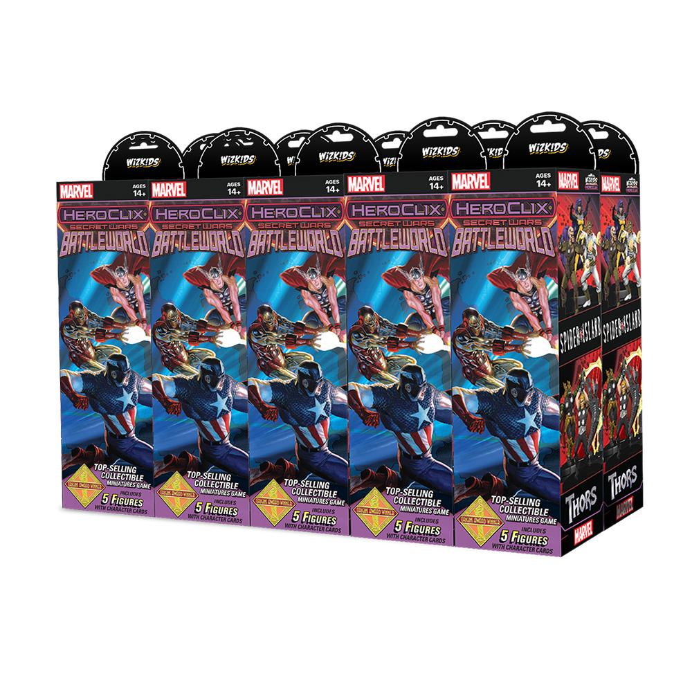 Secret Wars Battleworld Booster Brick