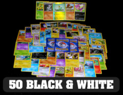 50 Pokemon Cards: Black & White Repack