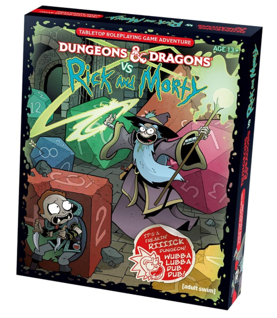 D&D Rick & Morty vs. Dungeons & Dragons
