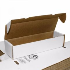 BCW 800 Count White Cardboard Box