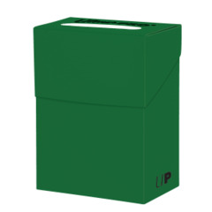 Ultra Pro - Solid Deck Box - Forest Green