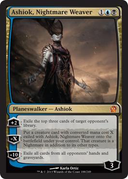Ashiok, Nightmare Weaver - Theros