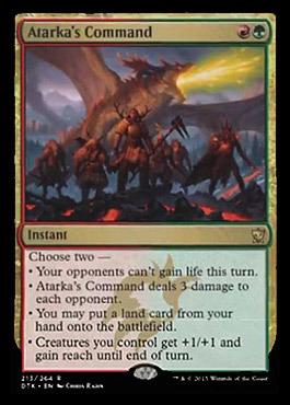 Atarkas Command - Dragons of Tarkir