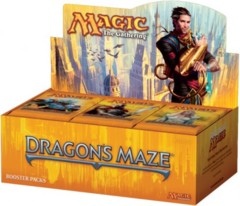 Dragon's Maze Booster Box WEBSITE DIRECT PRICE