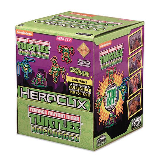 TMNT Heroclix: Unplugged Gravity Feed Display