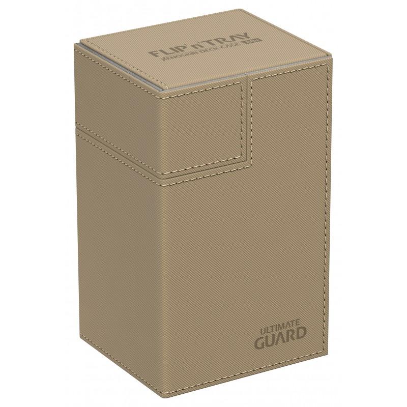 XENOSKIN DECK CASE Game Card Box MTG CCG ULTIMATE GUARD FLIP n TRAY SAND 80
