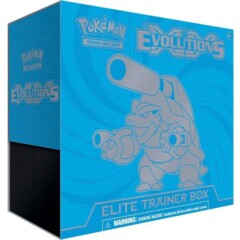 XY Evolutions Elite Trainer Box - Blastoise
