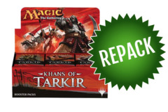 Khans of Tarkir Booster Box Repack