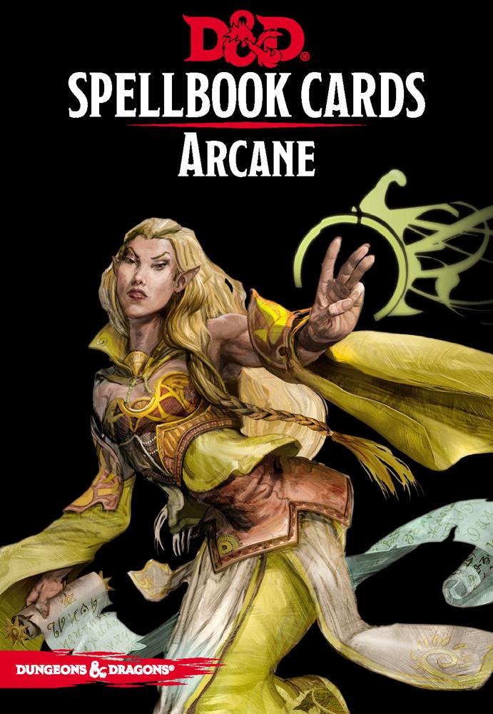 D&D Spellbook Cards - Arcane Deck Revised