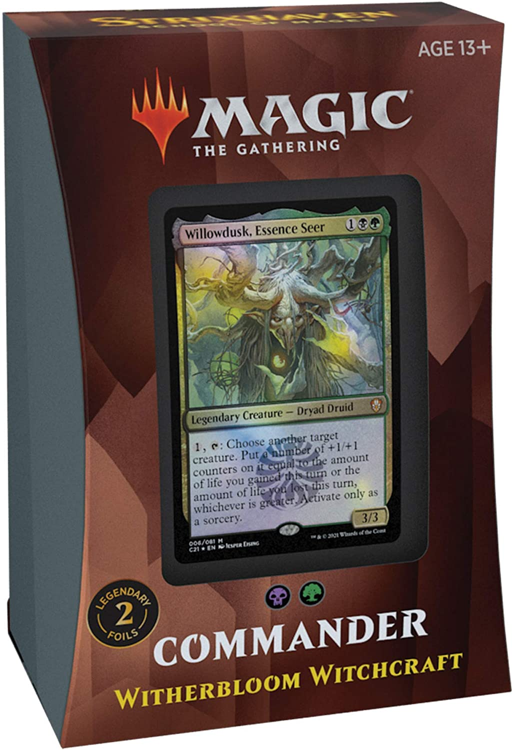 Strixhaven Commander Deck: Witherbloom Witchcraft LIMIT 2 PER CUSTOMER