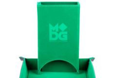 MDG Velvet Fold Up Dice Tower - Green