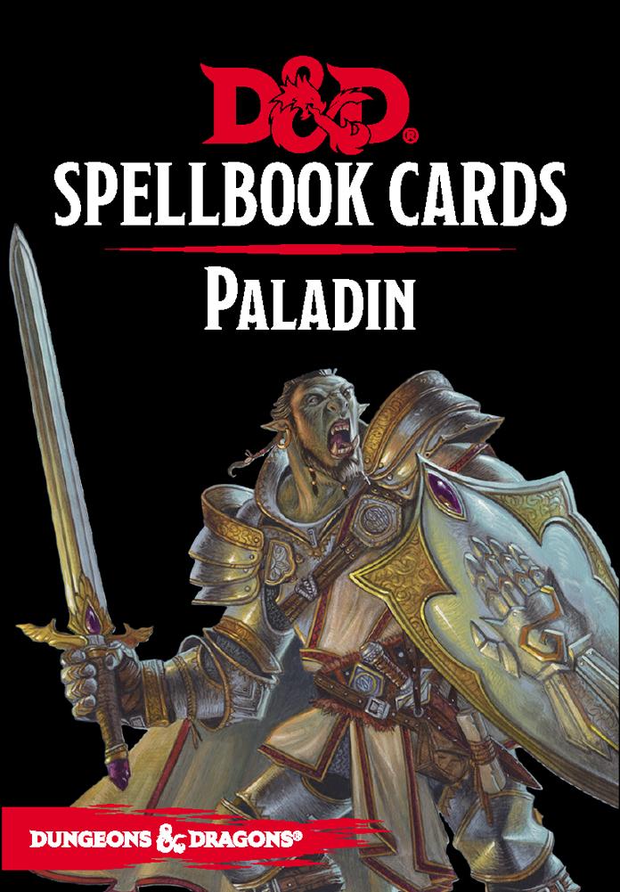 D&D Spellbook Cards - Paladin Deck Revised