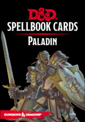 D&D Spellbook Cards - Paladin Deck Revised