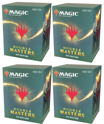 Double Masters VIP Edition Box (4 Packs)