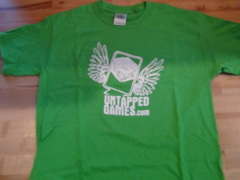 Untapped Games Youth T-Shirt - Electric Green
