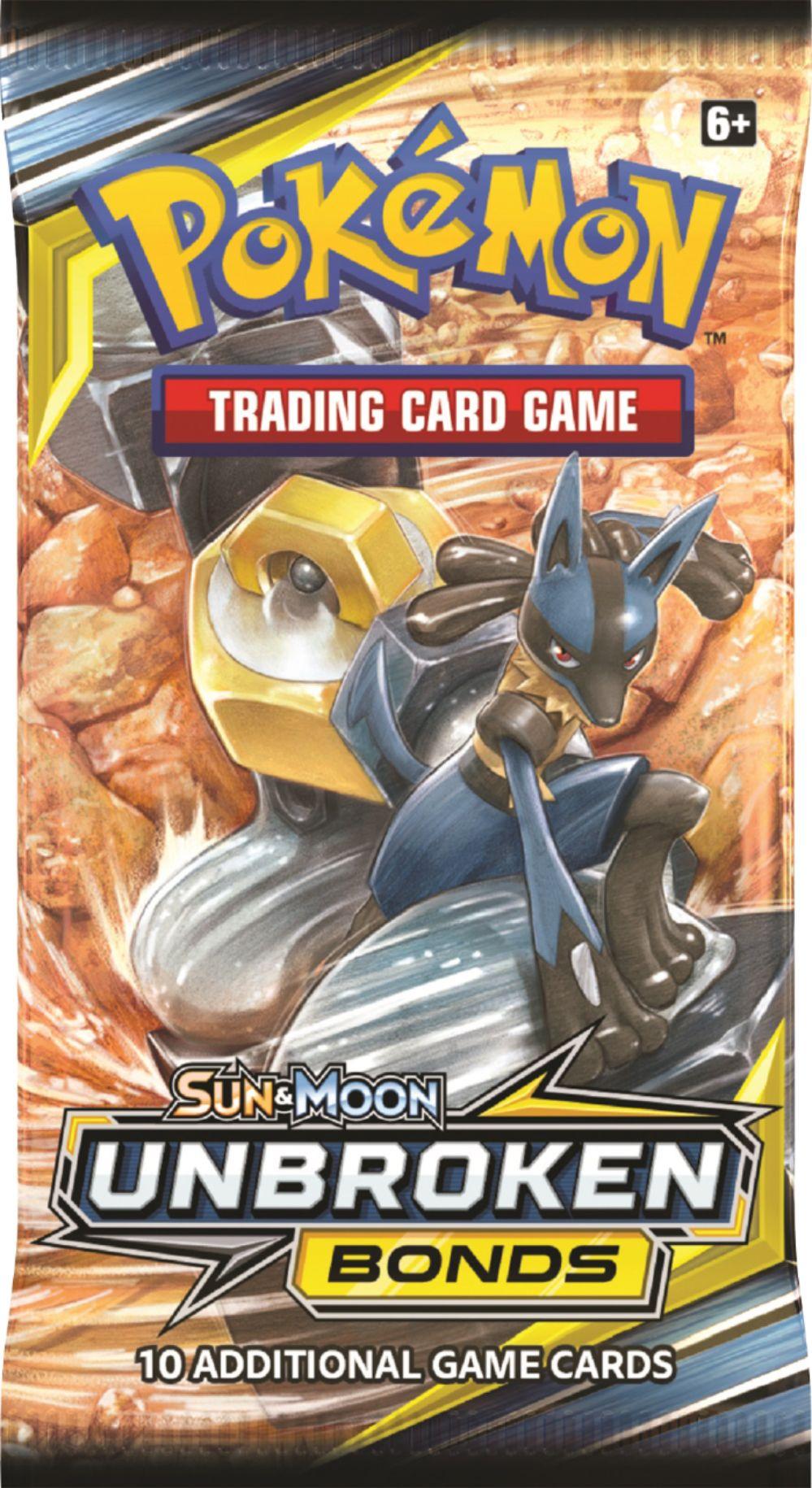 Sun & Moon Unbroken Bonds Booster Pack