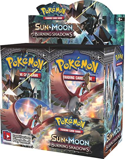 Sun & Moon - Burning Shadows Booster Box