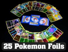 25 Pokemon Foils: Repack