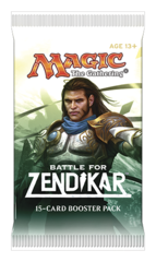 Battle for Zendikar Booster Pack - English