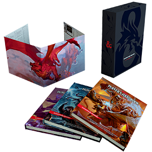 D&D 5th Edition Core Rules Gift Set