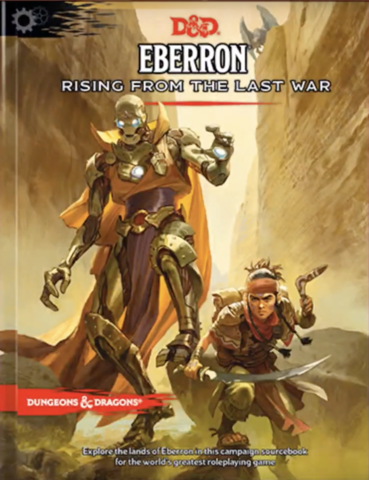 D&D Eberron Rising from the Last War Hardcover