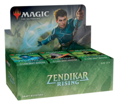 Zendikar Rising Draft Booster Box RELEASE DAY 9-25-20