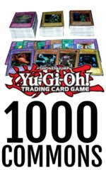 Bulk Yu-Gi-Oh 1000 Commons