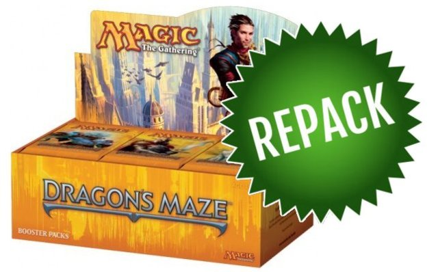 Dragons Maze Booster Box Repack