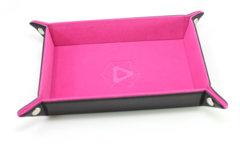 Die Hard Dice Table Armor Folding Dice Tray - Pink Velvet