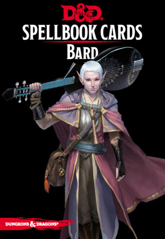 D&D Spellbook Cards - Bard Deck Revised