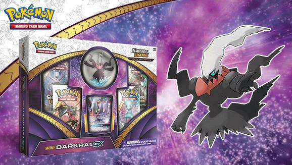 Shining Legends Shiny Darkrai GX Box