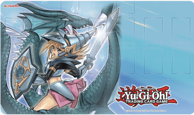 Konami Dark Magician Girl the Dragon Knight Game Mat LIMIT 1 PER CUSTOMER