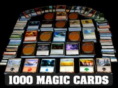 1000 MTG Cards: Value Lot with 100 Lands