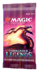 Commander Legends Collector Booster Pack RELEASE DAY 11-20-20