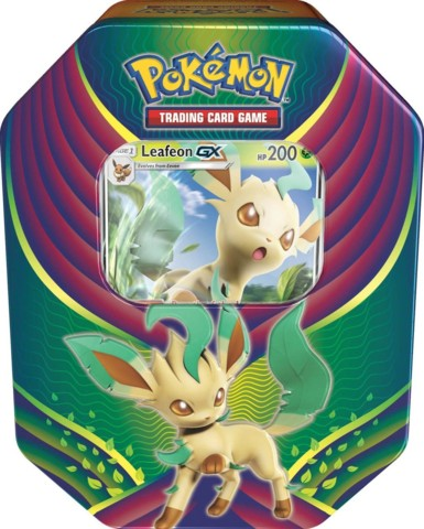 Evolution Celebration Tin - Leafeon GX