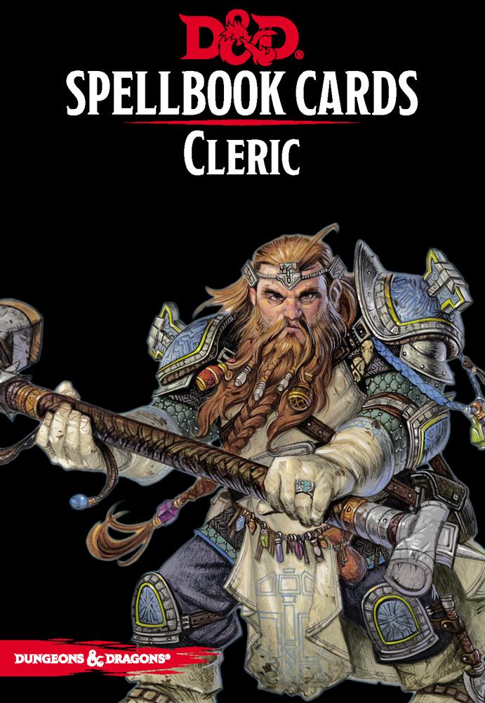 D&D Spellbook Cards - Cleric Deck Revised